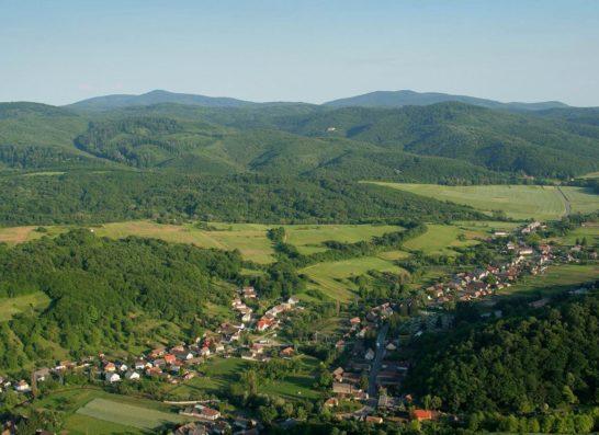 Luftbild Magyaregregy